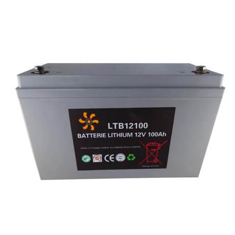 Batterie Lithium 12V-100Ah