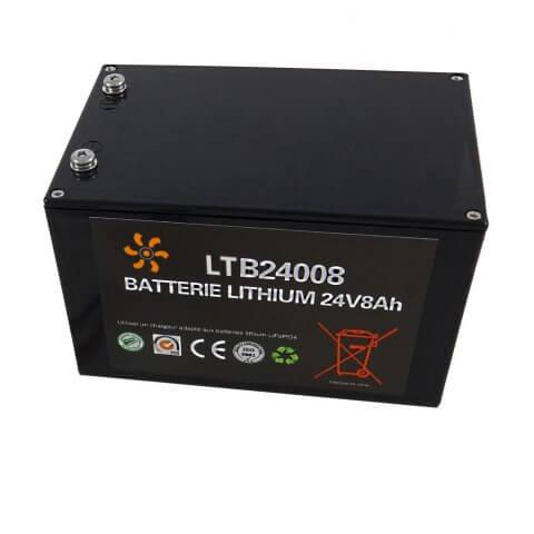 Batterie Lithium 24V 8Ah