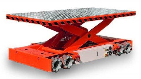 Batterie Lithium pour robot AGV plateau