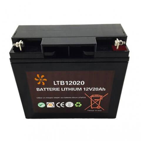 Batterie Lithium 12V-12Ah