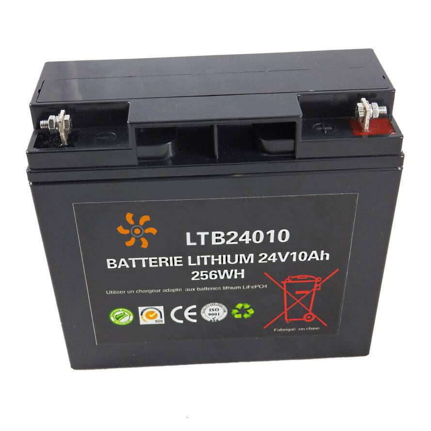 Batterie lithium 24V 10Ah