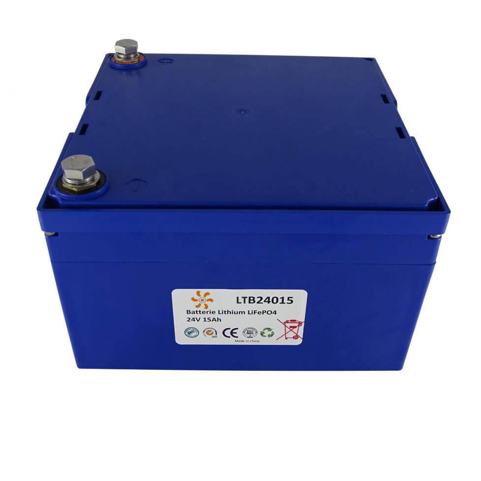 Batterie lithium 24V 15Ah