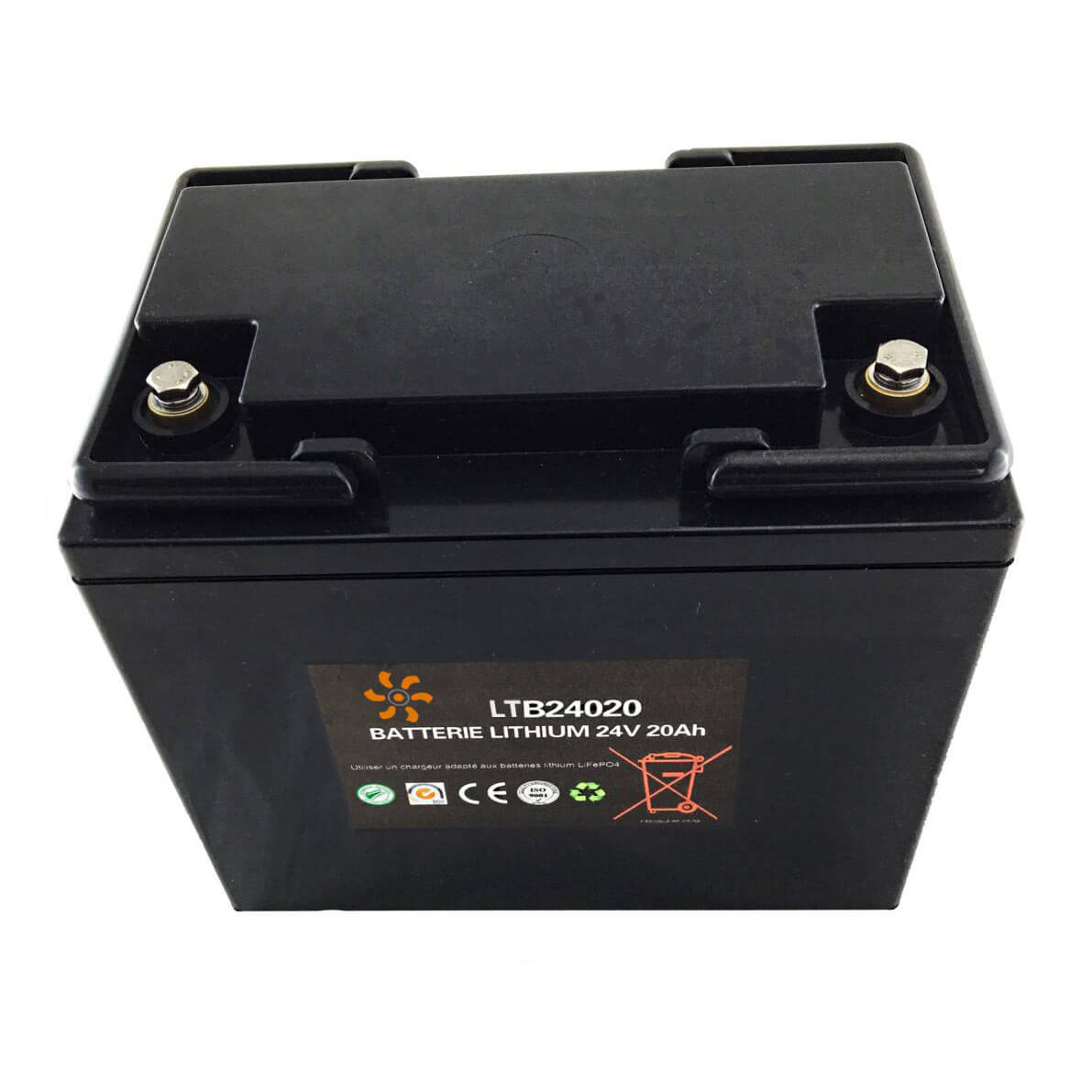 Batterie lithium 24V 20Ah