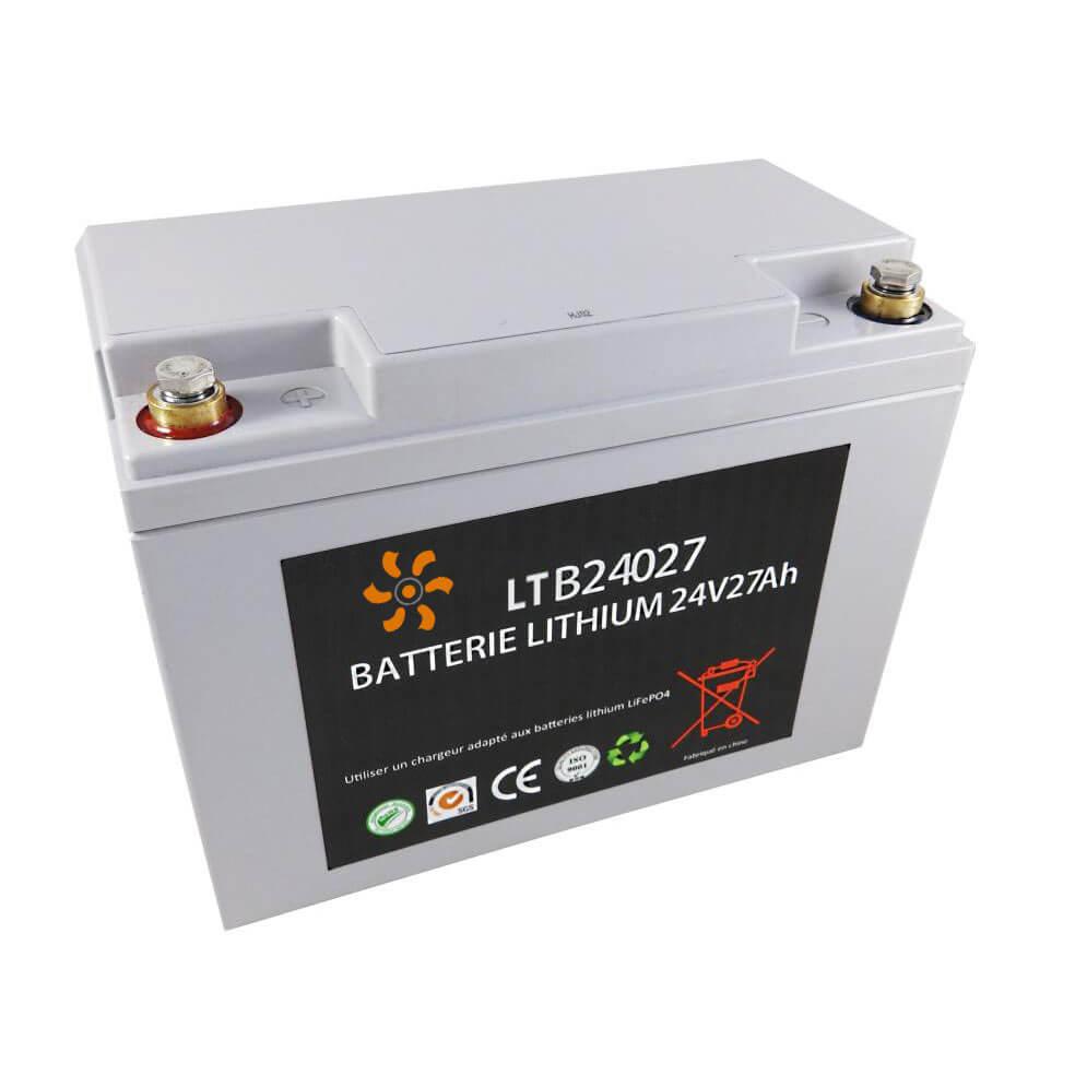 Batterie lithium 24V 27Ah