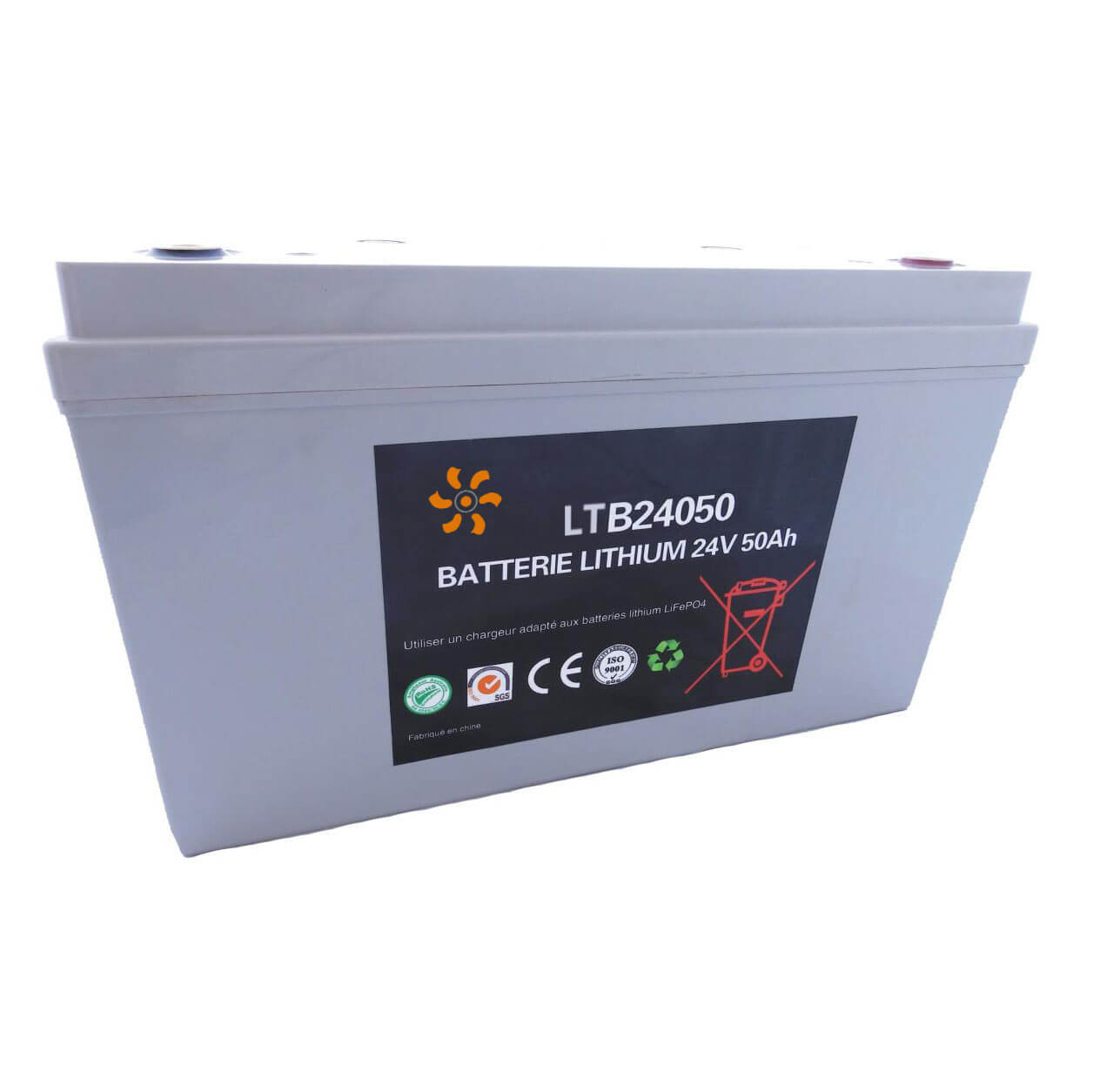 Batterie lithium 24V 50Ah
