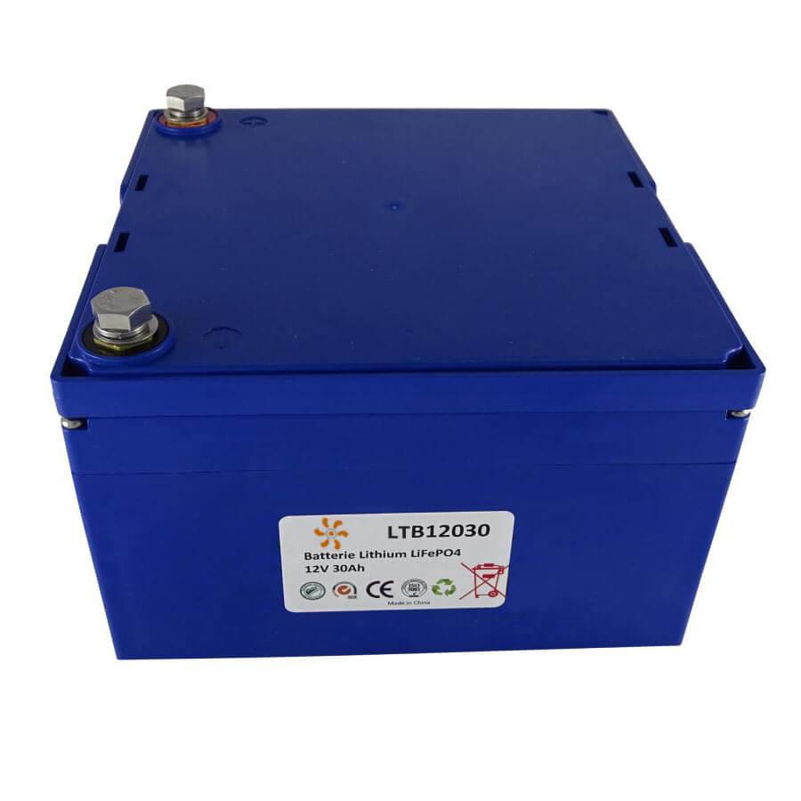 Batterie lithium 12V 30Ah