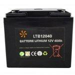 Batterie Lithium 12V-40Ah