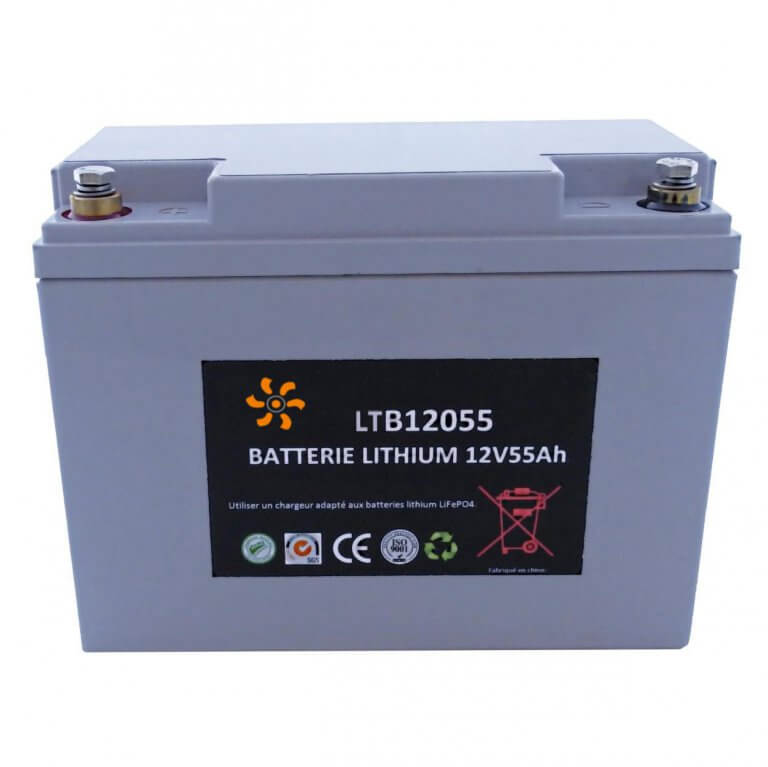 Batterie Lithium 12V-55A