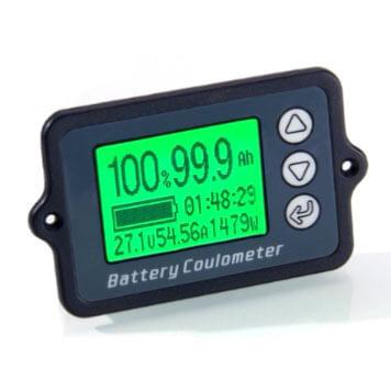 LITHIUM SUR MESURE - Indicateur de capacité (coulombmètre) 100A