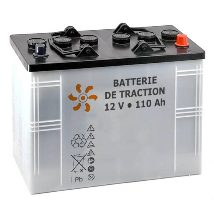 Batterie de Traction Plomb Li-Tech