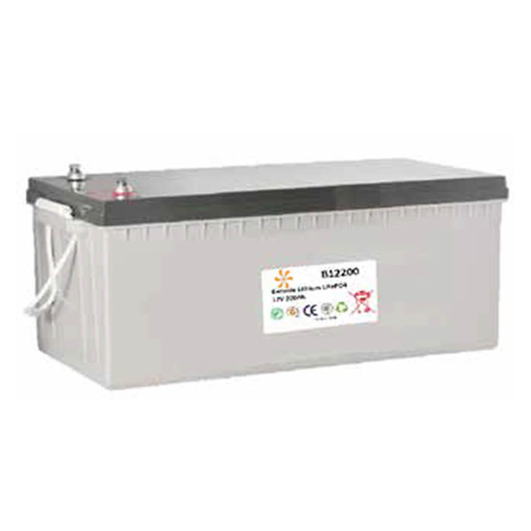 Batterie lithium 12V 200Ah