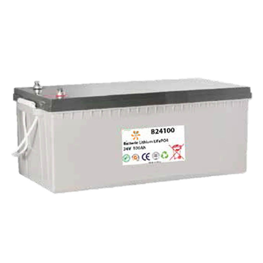 Batterie lithium 24V 100Ah